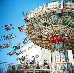 State Fair Swing Ride @ the Cotton Bowl in Dallas Texas
