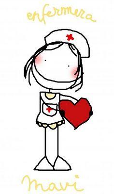 MISSPINK - Espe 2.2 - Picasa Web Albums Nurse Cartoon, Cartoon Pics, Rock Painting Patterns, Rock Painting Designs, Nurse Drawing, Send A Card, Card Sentiments, Kawaii Stationery, Stick Figures