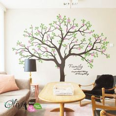 Large Tree Wall Decals Trees Decal Nursery Tree Wall Decals Tree - Custom vinyl wall decals large   how to remove