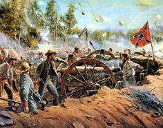 1864 06-25 Thunder on Little Kennesaw - Don Troiani