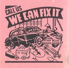 Call Us – We Can Fix It  #generic #matchbook cover