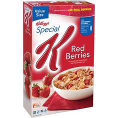 Kellogg's Special K Red Berries Cold Cereal, 16.9 oz box