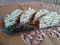Medové tvarohové rezy s kivi džemom (fotorecept) - obrázok 12 Dairy, Pie, Cheese, Food, Torte, Cake, Fruit Cakes, Essen, Pies