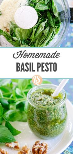Pesto makes for a fantastic summer food because it may be prepped in advance, as mentioned earlier, and stored in the freezer for later use. Healthy Meals For Kids, Healthy Snacks, Healthy Recipes, How To Make Pesto, Homemade Pesto, How To Grill Steak, Basil Pesto, Summer Food, Yummy Snacks