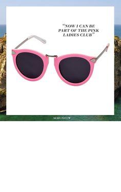 Karen Walker  Harvest sunglasses, $280