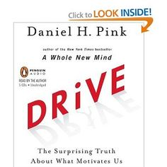 Drive, The Surprising Truth About What Motivates Us - Daniel Pink