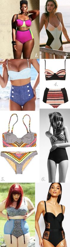 Color blocking swimsuit  styling inspiration // Sophie Swimsuit Pattern  // Closet Case Files