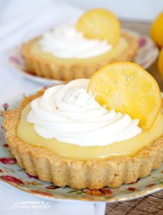 Fresh & Local: Meyer Lemon Tart with Vanilla Almond Shortbread Crust - SO yummy! - Happiness is Homemade ad #CAonMyPlate #CultivateCA