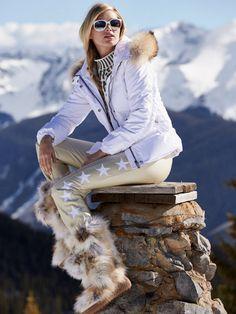 tiby star glam stretch ski pant - ski pants - women - Gorsuch