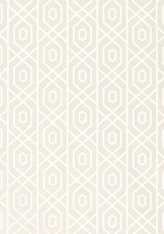 Thibaut- Geometric Resource- Prescott Ivory shop.wallpaperconnection.com