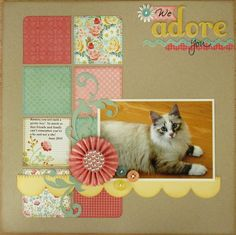 Snippets By Mendi: A Layout & Card to share...