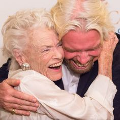 """Richard Branson on Instagram: """"I'm sorry to share that, sadly like a lot of people's friends and relatives right now in these days of Covid, my mum Eve has also passed…"""" Brilliant Legacy, Richard Branson, Sky News, Creative Skills, The Beverly, Its A Wonderful Life, Ballet Dancers, My Girl"""