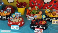 Throw an exceptional get-together for your children's birthday party with these 7 fascinating paw patrol party ideas. The thoughts must be convenient to those who become the true fans of Paw Patrol show. Paw Patrol Party, Paw Patrol Birthday Theme, Paw Patrol Cake, 4th Birthday Parties, Boy Birthday, Third Birthday, Birthday Ideas, Birthday Nails, Cake Birthday