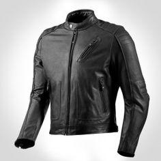 REVIT REDHOOK LEATHER JACKET - BLACK - Urban Rider London