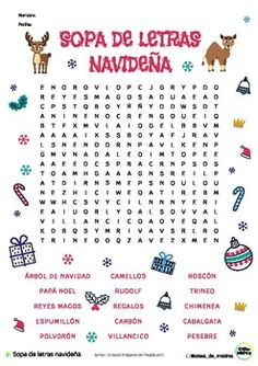 Spanish Vocabulary, Spanish Language Learning, Teaching Spanish, Spanish Christmas, Spanish Holidays, Plastic Spoon Crafts, Paper Games, Creative Kids, Party Themes