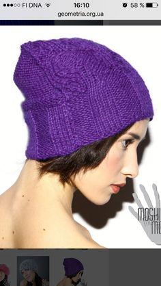 Knitted Hats, Crochet Hats, Winter Hats, Fashion, Knitting Hats, Moda, La Mode, Knit Caps, Fasion