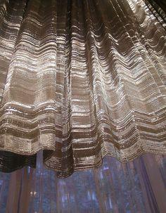 Metal weaving -- Sophie Mallebranche