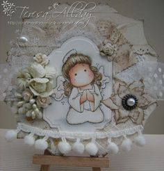 Angel Tilda, Merry Little Christmas collection, Magnolia stamps