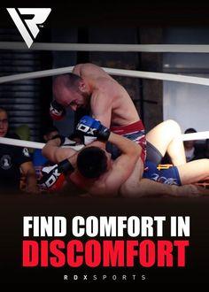 Find Comfort in Discomfort #RDXSports #TeamRDX #RDX #MMA #UFC