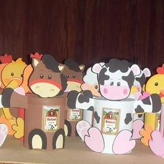 Horse Birthday Parties, 2nd Birthday, Cadeau Parents, Farm Party, Farm Theme, Ideas Para, Safari, Crafts For Kids, Milk