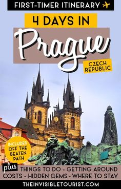Best Way To Safeguard Your Investment Decision - RV Insurance Policies 4 Days In Prague Itinerary: Complete Guide For First-Timers The Invisible Tourist European Destination, European Travel, Europe Travel Guide, Travel Guides, Travel Destinations, Prague Things To Do, Prague Travel, Rome Travel, Prague Czech Republic