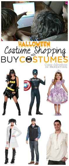 Halloween Costume Shopping at @buycostumes #orangetuesday #ad