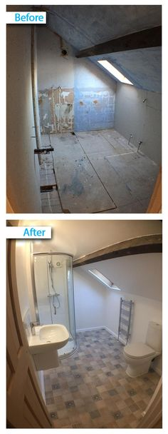 Best UK Bathroom Guru Projects Before After Images Images On - Full bathroom installation