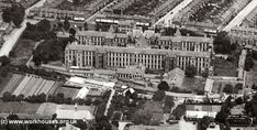 Strand Workhouse, Edmonton, My Grandfather 1886 to Straight into the Royal Navy. Girls went into service. Local History, Family History, Old London, London Photos, Royal Navy, Old Photos, Prison, Paris Skyline, Britain