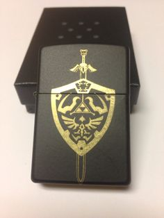 Legend Of Zelda Zippo by 117Studios on Etsy, $45.00