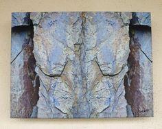 Torso, Rheinschiefer, FOTO von GIMOOTO, Motiv gedruckt auf Künstlerleinwand
