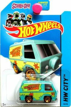 The Mystery Machine 2014 Hot Wheels HW CITY #84/250 Scooby Doo