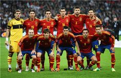 Reigning European champions Spain.