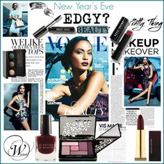 """""""New Year's Eve Edgy Beauty Look"""" by fashiontake-out on Polyvore"""