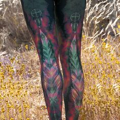 Eagle Feather Green Hot Pant: Bought these and love 'em. I handwash them after every yoga class because I cherish them like my own work of art. Made out of BPA-free plastic water bottles. lovelovelove