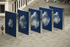 Fascinating Street Installation Lets You Walk Through the Clouds | Wave Avenue