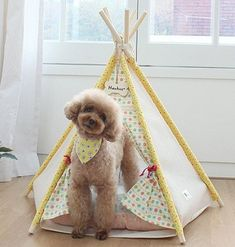 Adorable Pet Teepee Indian Tent