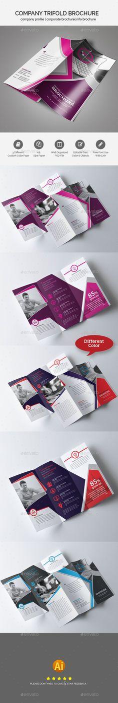Trifold Brochure Design - Brochures Print Templates