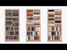 """Making designer furniture with scrap wood was """"totally new,"""" says Piet Hein Eek - YouTube"""