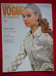 Vogue Pattern Book, Winter 1968 featuring Vogue 2023 by Galitzine