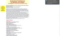 Ludden T. 'Das Undarstellbare darstellen' : Kulturkritik and the Representation of Difference in the works of Anne Duden. Berlin: Weidler Buchverlag, 2006.
