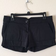 Forever 21 black shorts Good condition! Comfy fit. Size L Forever 21 Shorts