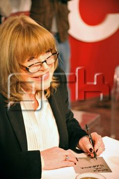 """Marianne Faithfull signing new CD, Horses and High Heels. She released her 18th studio album in mainland Europe. The 13 track album contains four songs co-written by Faithfull, the rest are covers of mainly well known songs such as Dusty Springfield's """"Goin'Back"""" and The Shangri-las' """"Past, Present, Future"""", in Paris, France on february 09, 2011."""