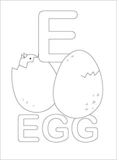 alphabet coloring pages - full alphabet