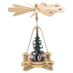 Richard Glaesser Musician Angels and Christmas Tree Pyramid