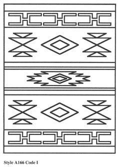 Carpet Runner Next Day Delivery Referral: 7300783075 - Sofia Stencil Patterns, Tribal Patterns, Loom Patterns, Applique Patterns, Pattern Art, Quilt Patterns, Native American Patterns, Native American Symbols, Native American Design