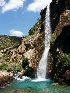 A waterfall near Knin, Croatia