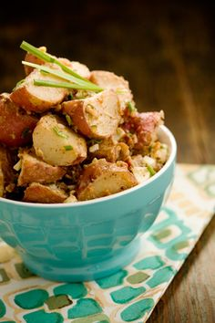 Paula Deen's Skillet Fried Potato Salad