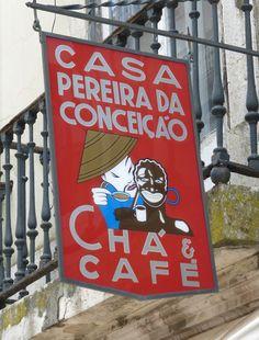 Reclam botiga Cafès . Lisboa