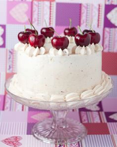 Cherry Cake ~ (on site scroll down for recipe) Tasty Chocolate Cake, Chocolate Party, Decadent Chocolate, Birthday Sweets, Birthday Parties, Berry Cake, Cupcakes, Drip Cakes, Love Cake