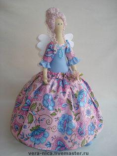 Куклы Тильды ручной работы. Ярмарка Мастеров - ручная работа Изабель. Тильда на чайник. Handmade.